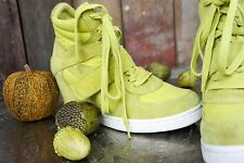Limited a by Ash * High sneakers/High Top * verde amarillo cuero * * talla 39