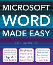 Microsoft Word Made Easy by Rob Hawkins (Paperback, 2011)