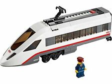 Lego City Locomotive from 60051 High-Speed Passenger Train No Power Functions