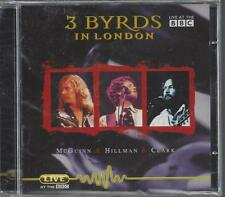 3 Byrds Recorded Live In London At The BBC in 1977 McGuinn Hillman Clark NEW CD