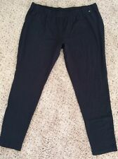 WOMENS MAURICES BLACK SLIM FIT STRETCH LEGGINGS PANTS PLUS SZ 4X