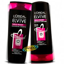 Loreal L'oreal Elvive Triple Resist Reinforcing Shampoo & Conditioner 400ml