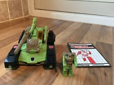 ⭐️ G1 TRANSFORMER HARDHEAD TAKARA HASBRO 1987 100% COMPLETE WITH WEAPONS ⭐️