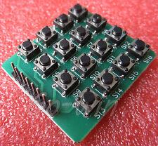 2PCS 4x4 Keypad MCU Accessory Board Matrix Keyboard Buttons NEW