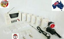GSM+PhoneLine Wireless Home Security Burglar House Alarm System Detector Sensor=