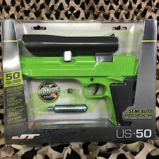NEW JT US-50 Semi-Auto .50 Caliber Semi-Auto Paintball Pistol - Green