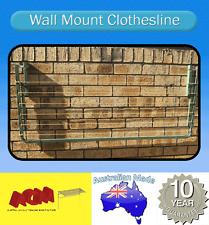 CLOTHESLINE, Fold down wall mounted clothes line 3000mm x 1200mm  great quality
