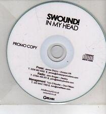 (CH924) Swound!, In My Head - DJ CD