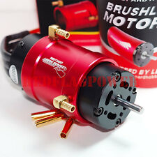 2200kv Leopard 4082 brushless marine motor for RC boat 40mm water cooling jacket