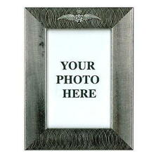 RAF Wings Pewter (plated) Photo Frame,NEW,6'' by 4''Inside