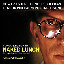 NAKED LUNCH  - COMPLETE SCORE - LIMITED EDITION - HOWARD SHORE