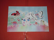 POKEMON-  cartolina/post card  con i personaggi dei pokemon n°6