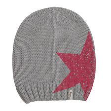 (P53) Grobstrick Mütze FREAKY HEADS Beanie Wintermütze Big Star Druck &Logo Flag