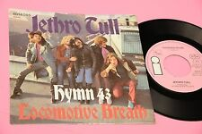 """JETHRO TULL 7"""" HYMN 43 ORIG GERMANY 1971 EX TEXTURED COVER"""