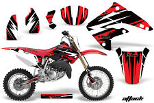 AMR Racing Honda CR85R Graphic Kit Decal Sticker MX Wrap 2003-2007 ATTACK RED