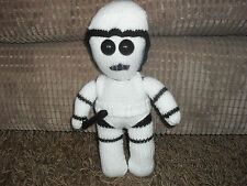 STAR WARS INSPIRED STORMTROOPER **TOY KNITTING PATTERN ONLY ** 13 INS