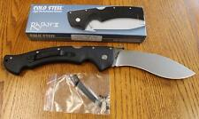 NEW Cold Steel 62KGC Rajah II Folding Kukri Knife CTS BD1 Blade Stonewash Finish