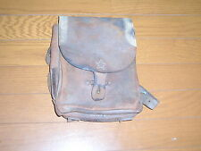 ORIGINAL WW2 IMPERIAL JAPANESE ARMY INFANTRY LEATHER BAG -GOOD