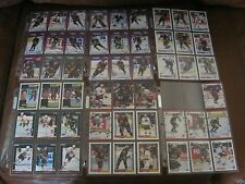 VANCOUVER CANUCKS - HOCKEY TRADING - 52 CARD LOT/ TEAM SET - 1990 - 1992-93