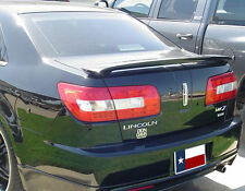 FITS LINCOLN MKZ 2007-2011 BOLT-ON REAR TRUNK SPOILER - UNPAINTED