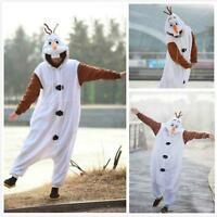 Frozen Unisex Adult Pajamas Kigurumi Cosplay Animal Onesie Disney Olaf