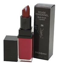 YSL Yves Saint Laurent ROUGE Personale Multi-Finish Lipstick #26 ASTRAL Borgogna