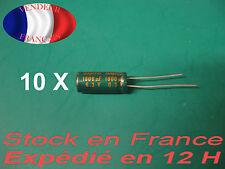 1800uF 6.3 V condensateur  X 10 capacitor  105°C