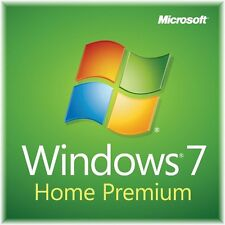 MICROSOFT Windows 7 Home Premium 32/64 Bit 100% Autentico veloce download online