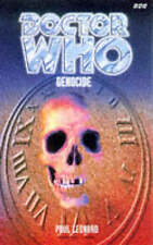 Doctor Who: Genocide, Leonard, Paul Paperback Book