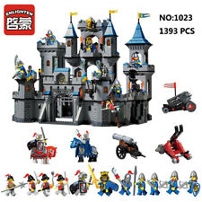 Enlighten Medieval Knights Lion Castle Figures Building Blocks Toy Fit for LEGO