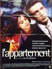 """""""L'APPARTEMENT""""Affiche originale Vincent CASSEL,Romane BOHRINGER,Monica BELLUCCI"""