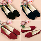 New Womens Ballerina Loafers Flat Single Shoes Ballet Slip On Casual Candy Flats