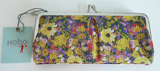 Hobo International Vera Wallet Daisy Floral Print Leather Photo Holder Organizer