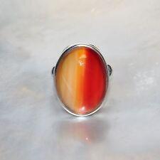 Karneol Ring, 925er Silber, Edelsteinring (20215), Edelsteinschmuck