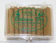 INCENSE REFILL 40 BALSAM FIR STICKS Paine's lodge style SACHET scented pine log