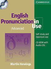 ENGLISH PRONUNCIATION IN USE Advanced Book with CD-ROM + 5 Audio CDs Pack @NEW