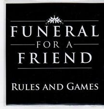 (BO829) Funeral For A Friend, Rules And Games - 2009 DJ CD
