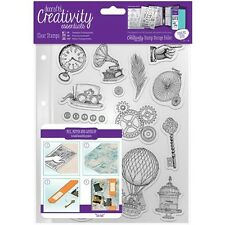 docrafts Creativity Essentials A5 Clear Stamps - 533646
