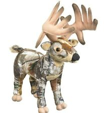 "10"" Whitetail Deer Real Tree AP HD Camo Plush Stuffed Animal Toy - New"