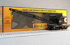MTH RAILKING CP RAIL AMERICAN CRANE CAR o gauge train freight boom 30-79467 NEW