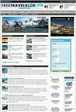 PROFESSIONAL TRAVEL BOOKING WEBSITE BUSINESS FOR SALE! with TARGETED SEO CONTENT
