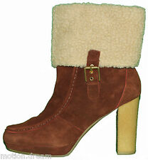 "ROCKPORT Women's COURTLYN FUR LOW BOOTSize 9.5 ""Brand New""RRP$220.00"