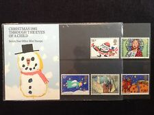 GB Royal Mail 1981 Presentation Pack #130 CHRISTMAS - Low S&H