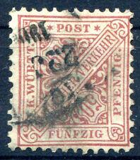 WTTBG 1890 211 gest RARITÄT + ABART ATTEST WINKLER BPP 2200€++(E7042b