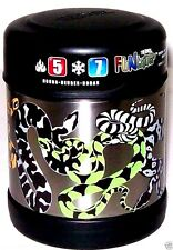 NWT 10oz Vacuum Insulated Stainless Steel Food Jar THERMOS Funtainer SNAKES