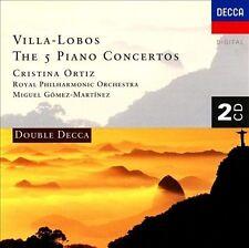 Heitor Villa-Lobos: The 5 Piano Concertos (CD, May-1997, 2 Discs, Decca)
