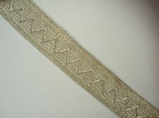 Imperial Russian or German silver braid. Original!!