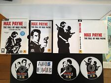 Coffret fourreau collector cartonnée Max Payne 2 : The Fall of Max Payne  PC FR