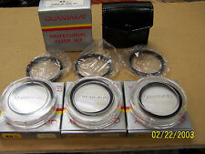 6 Quantaray Filters: 46MM Close-Up #1,2,3 and 49MM Close-Up #1,2,4 w/Case