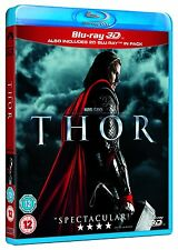 Thor (Blu-ray 2D/3D) BRAND NEW!! MARVEL